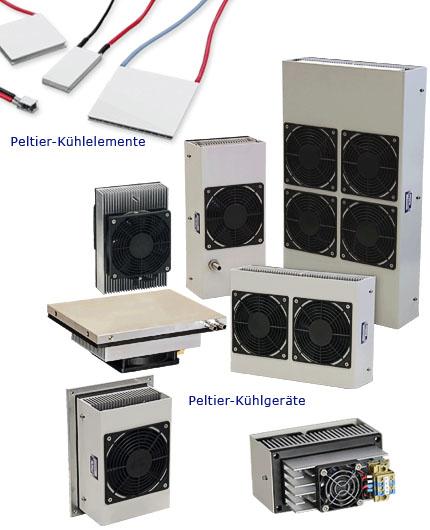 Peltier-Kühlelemente und Kühlgeräte von Weber Thermoelectric
